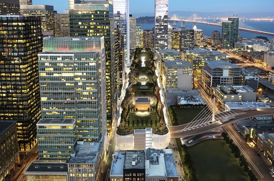 Salesforce Transit Center Architect Magazine Pelli