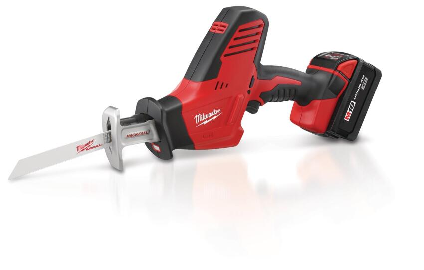 Milwaukee Hackzall M18 Cordless One-Handed Recip Saw