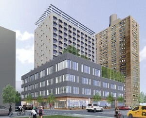 Site 6 at Essex Crossing will feature 100 affordable senior housing units and a medical facility that will span three floors.