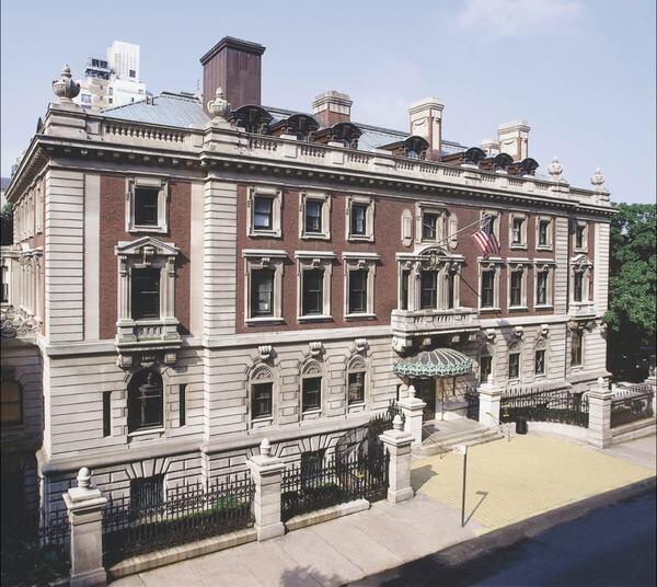 Mansion exterior.