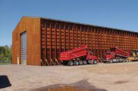 Wheeler + Salt storage structures