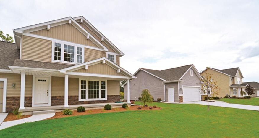 The 12 rental homes in Dow's new test community are identical except for insulation and air-sealing systems.