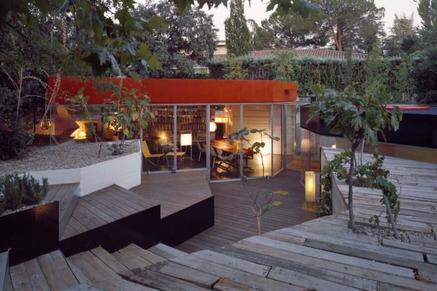 Projekt: Casa Selgas Cano  Architekt: Selgas Cano  Ort: Madrid