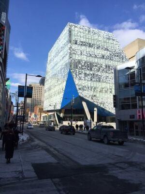 Ryerson University's Student Learning Center, Toronto.