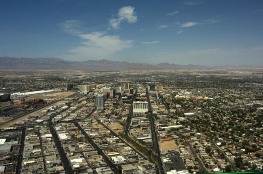 Las Vegas cityscape overview