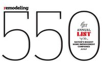 REMODELING 550 List for 2013