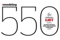 REMODELING 550 List for 2013