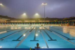 Photo by Pablo Mason; Alga Norte Community Park Aquatic Center, Carlsbad, Calif.
