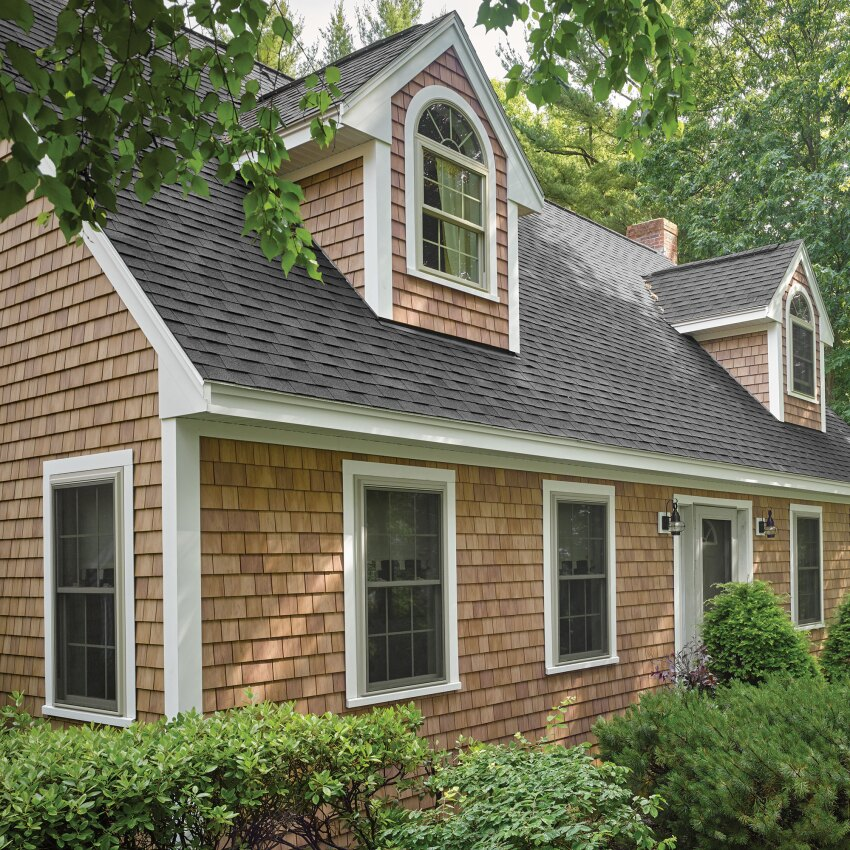An industry first engineered to last certainteed cedar for Certainteed siding