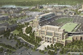 University of Notre Dame Campus Crossroads Project