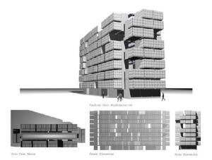 Viraline renderings showing RDIC elevations.