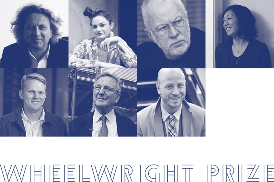 The 2016 Wheelwright Prize jury includes (clockwise, from top left) Mohsen