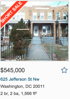 A real estate listing from districtoneproperties.com.