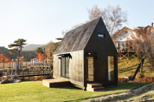 This Eco-Friendly Tiny House Will Host Visitors to the 2018 Winter Olympics