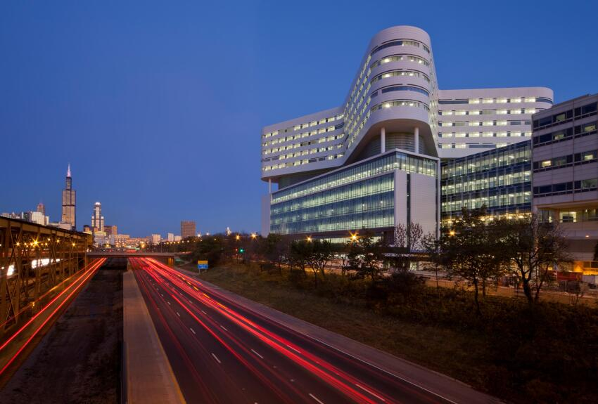Rush University Medical Center, Chicago, by Perkins+Will