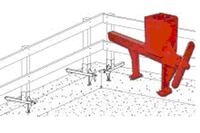 Ellis Mfg. Quick Rail Wall Guardrail