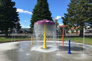 Northwest Pool Professionals Build Memorial Splashpark