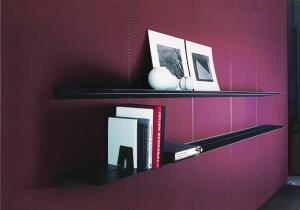 This Recycled Leather Wall System from Abet Laminati is made of recycled post-consumer leather fibers (treated with a vegetable tanning process and mixed with the latex of natural rubber) combined with a polymer and mounted on a high-density core. Seven colors are available, all of which can be cleaned with soap and water. The system can be installed in a vertical or horizontal pattern using extruded aluminum profiles as visible accents or as nonvisible components. The panels and aluminum trim are held together with tongue-and-groove profiles, creating the support structure for the panels to be mounted on a wall. abetlaminati.com