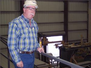 Ken Morrison has been instrumental in starting up Hanson's new plant in Houston.
