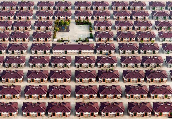 """Changing Identity/New Identity 07."" Houses in the city of Jiangyin, China. 2014 Sony World Photography Awards Professional Competition in Contemporary Issues category."