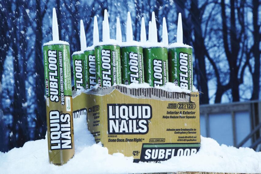 AkzoNobel Decorative Paints U.S. Liquid Nails Extreme Weather Formulation