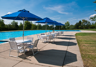 Commercial Pool Furniture and Umbrellas