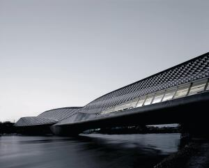 Zaragoza Bridge Pavilion, Zaha Hadid Architects