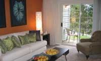 The model unit at BRE's Trails of Redmond offers a bright, inviting atmosphere for Hispanic prospects.