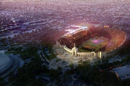 USC Los Angeles Memorial Coliseum Renovation