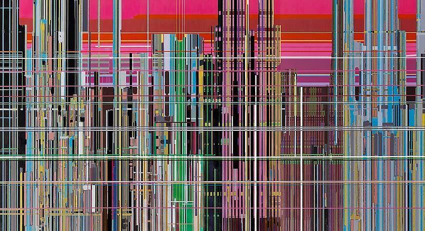 """""""Liberation No. 1"""" by Liu Wei"""