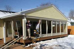 Low-Maintenance Approach to Enclosing a Porch