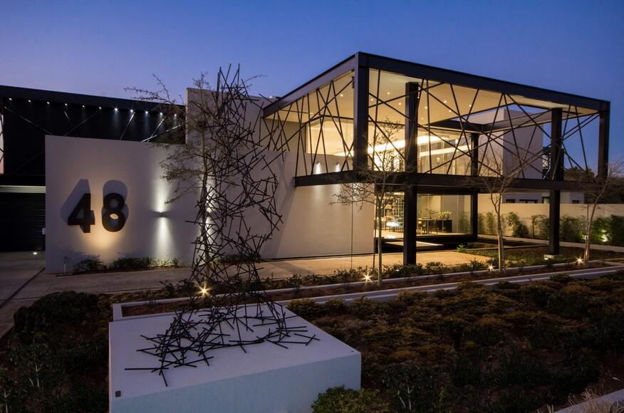 Modern Architecture Johannesburg house ber | architect magazine | nico van der meulen architects