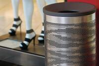 Product: Forms+Surfaces Universal Litter & Recycling Receptacle