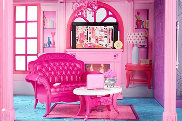 Barbie's Dreamhouse, set in Malibu.