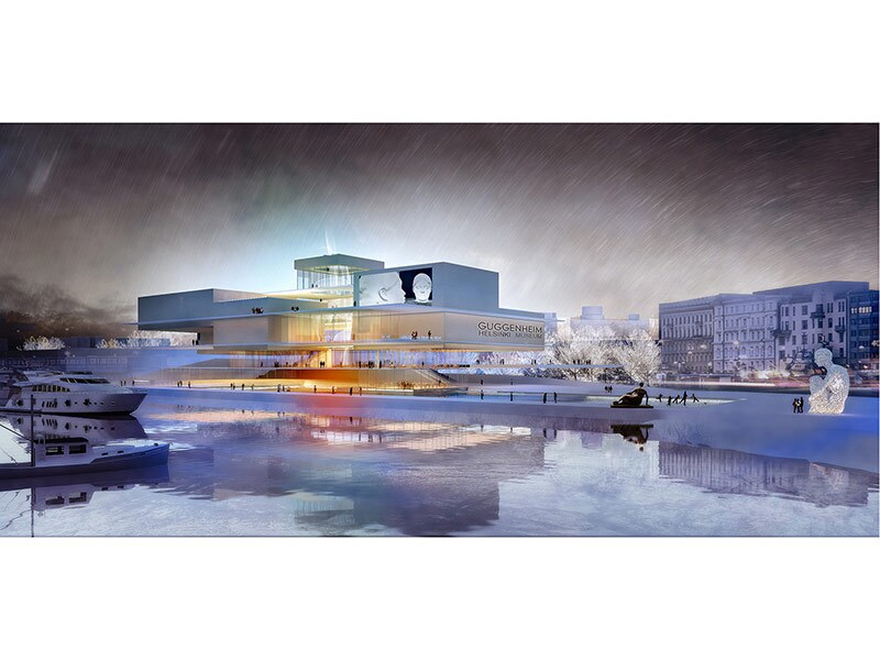 Guggenheim Helsinki Honorable Mention