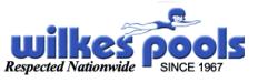 Wilkes Pool LLC. Logo