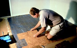 Eco-friendly products, such as cork flooring, are gaining popularity with consumers, though price is still a concern for some.