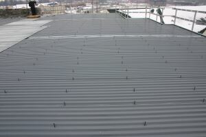 Ecospan system    Ecospanwww.ecospan-usa.com  Steel raised-floor system for residential and commercial construction    Manufactured with more than 99 percent recycled materials for joists and 70 percent for decking    Compatible with any wall framing Uses full sheets of light-gauge decking, no short sheets