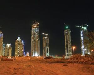 The skyline of Dubai City will change dramatically as the more than $90 billion projects are completed.