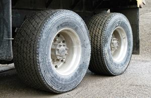 Michelin's X-One double-wide tire was designed to replace a traditional set of low-profile duals.