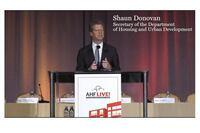 AHF Live Keynote Address by Secretary Shaun Donovan