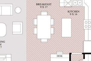 Goodbye, breakfast nook: a more flexible open plan kitchen