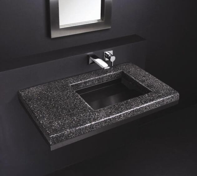 Popular Ebb-Concept Sink Now Comes in a Terrazzo Material