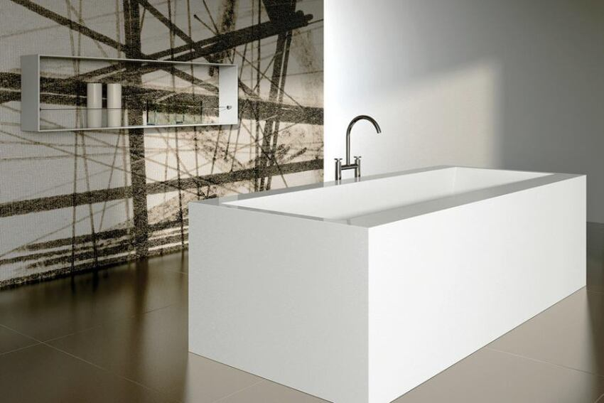 Paper tub collection by Teuco