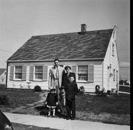 Original Levitt Cape, Circa 1948