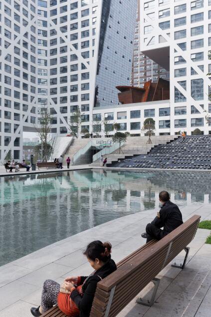 Plaza view.