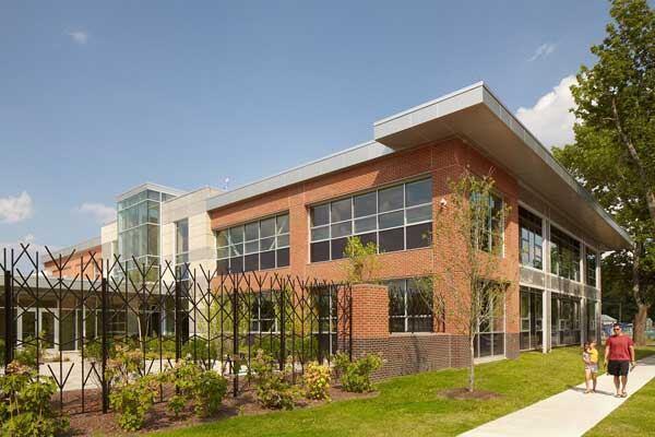 Walpole Public Library in Walpole, Massachusetts by LLB Architects.
