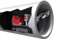 Aquajet Hydrodemolition Robot