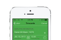 Mobile App for Payroll Time Entry