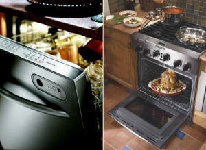 HEAVY DUTY: KitchenAid dishwashers and ranges scored high marks in J.D. Power's inaugural home appliances survey.
